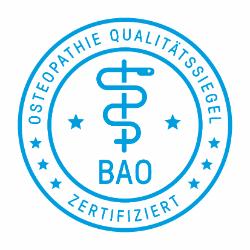 Qualitätssiegel der Berufsarbeitsgemeinschaft Osteopathie